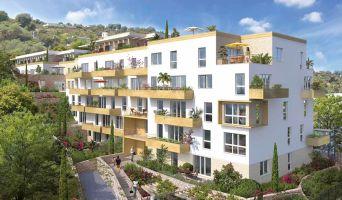 Résidence « Esprit Sud » programme immobilier neuf en Loi Pinel à Cagnes-sur-Mer n°1