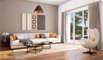 Résidence « Esprit Sud » programme immobilier neuf en Loi Pinel à Cagnes-sur-Mer n°2