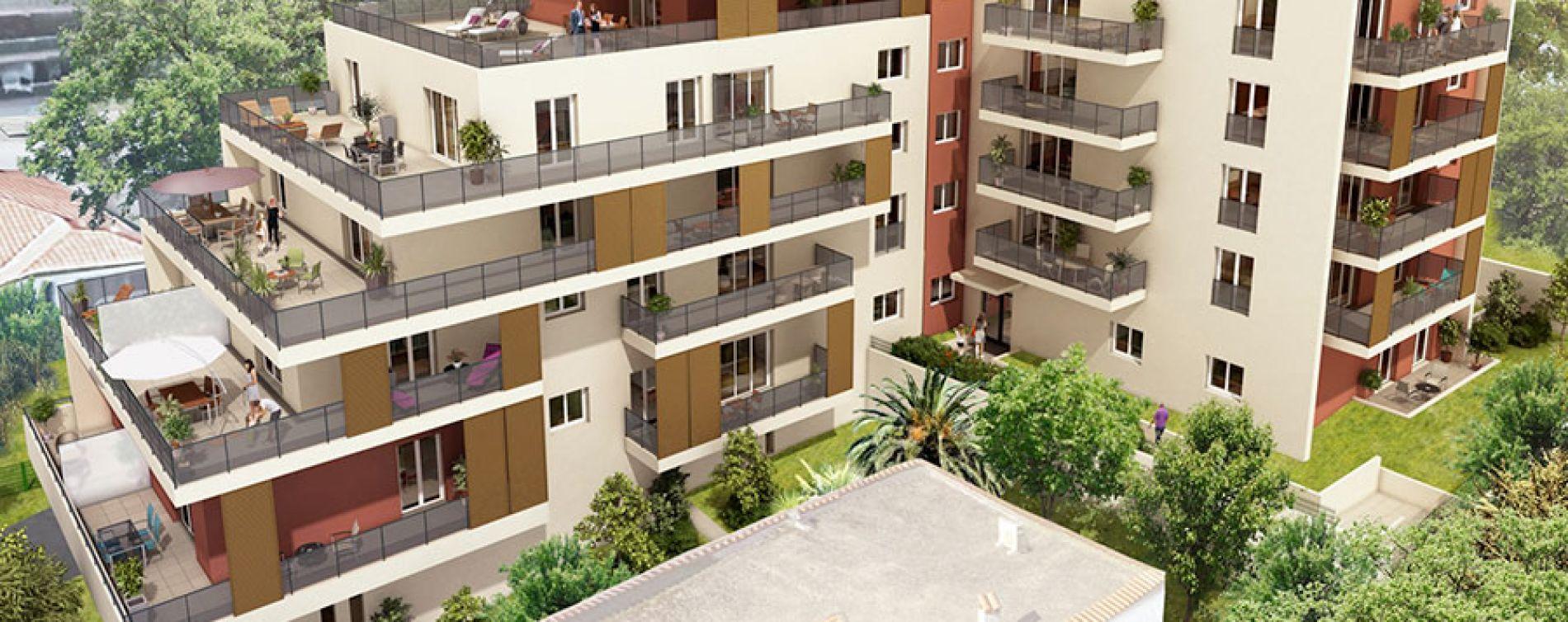 Cagnes-sur-Mer : programme immobilier neuve « Florazur »