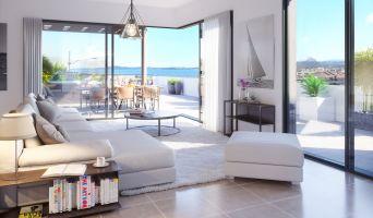 Photo du Résidence « Grey Pearl » programme immobilier neuf en Loi Pinel à Cagnes-sur-Mer