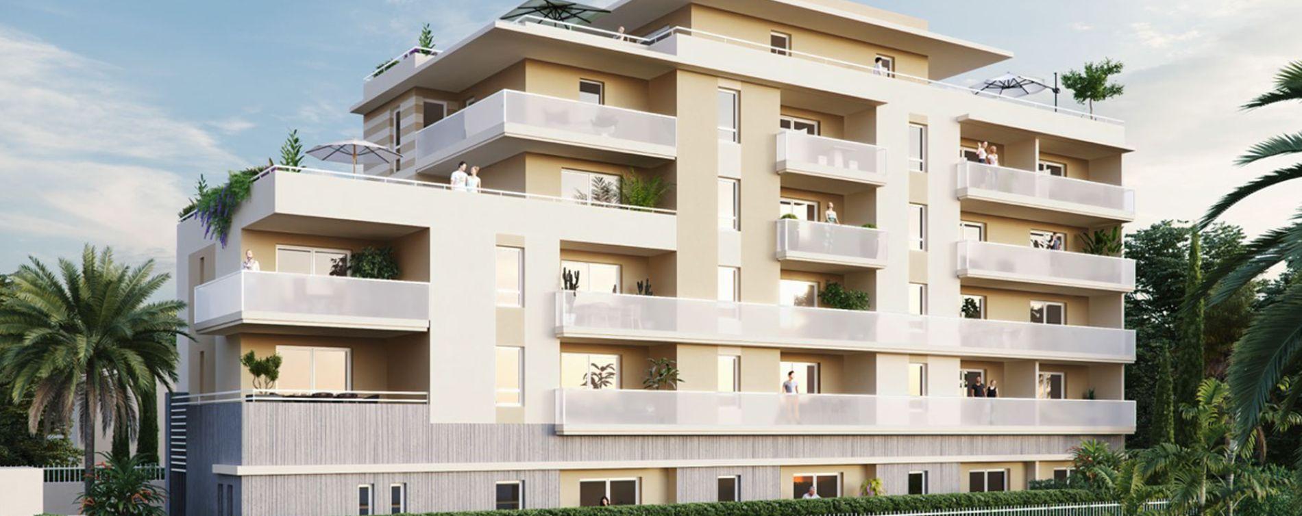 Résidence Villa Perla à Cagnes-sur-Mer