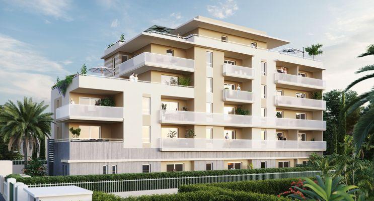 Photo du Résidence « Villa Perla » programme immobilier neuf en Nue Propriété à Cagnes-sur-Mer
