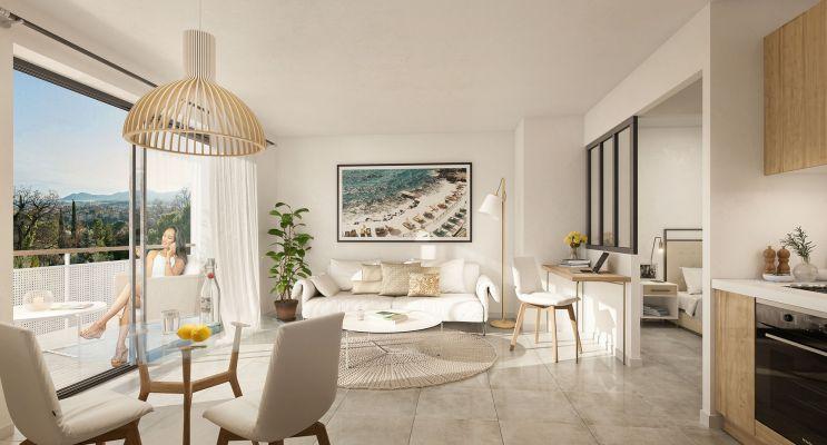 Résidence « Cannes Horizons » programme immobilier à rénover en Déficit Foncier à Cannes n°4