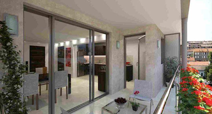 Résidence « Central Square Cannes » programme immobilier neuf en Loi Pinel à Cannes n°2