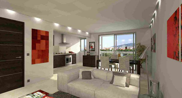 Photo n°3 du Résidence « Central Square Cannes » programme immobilier neuf en Loi Pinel à Cannes