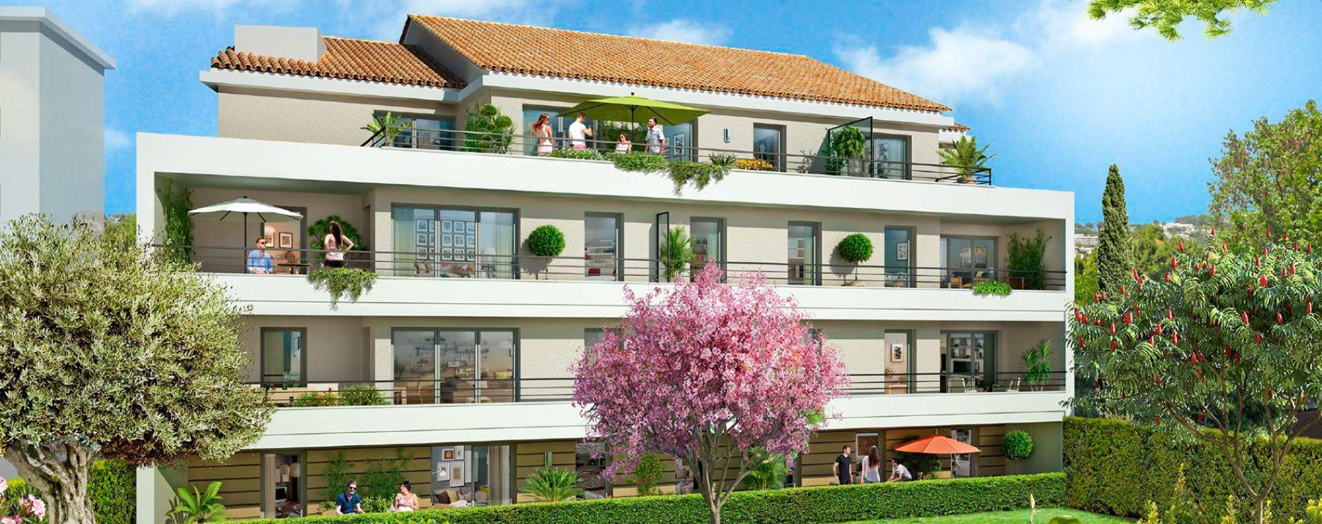 Résidence Les Jardins des Coteaux à Cannes