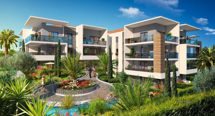 Photo n°1 du Résidence « Palm Horizon 2 » programme immobilier neuf en Loi Pinel à Cannes