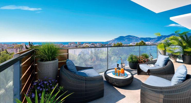 Photo n°2 du Résidence « Palm Horizon 2 » programme immobilier neuf en Loi Pinel à Cannes