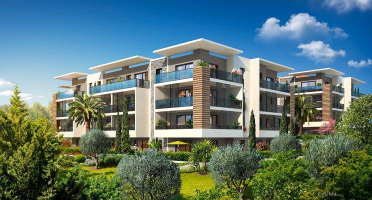 Photo n°3 du Résidence « Palm Horizon 2 » programme immobilier neuf en Loi Pinel à Cannes