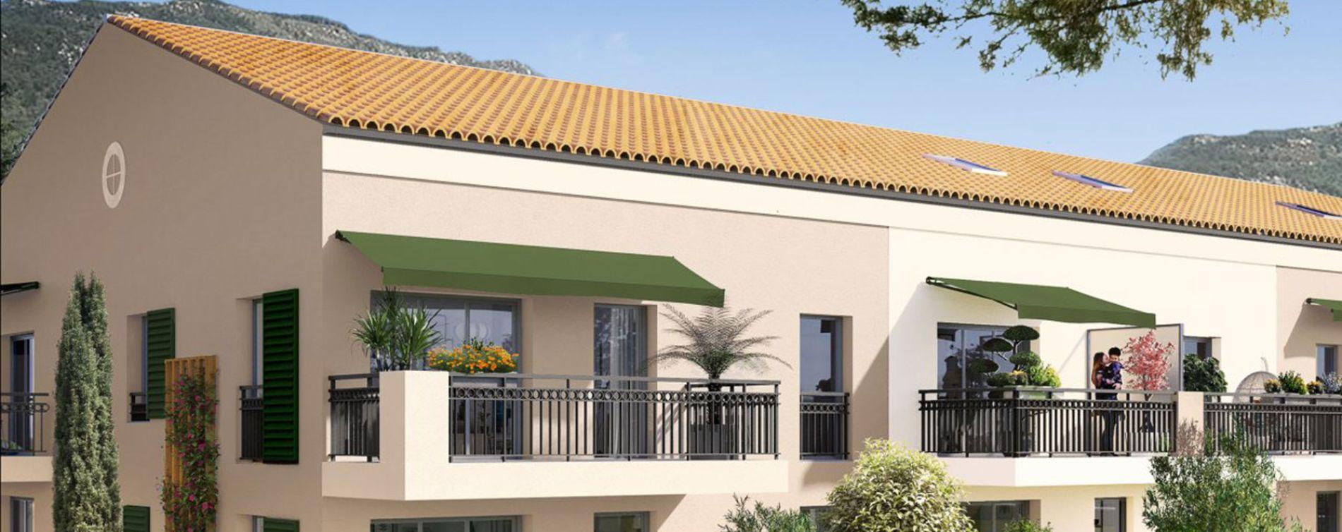 Carros : programme immobilier neuve « Le Mas de Clery » en Loi Pinel