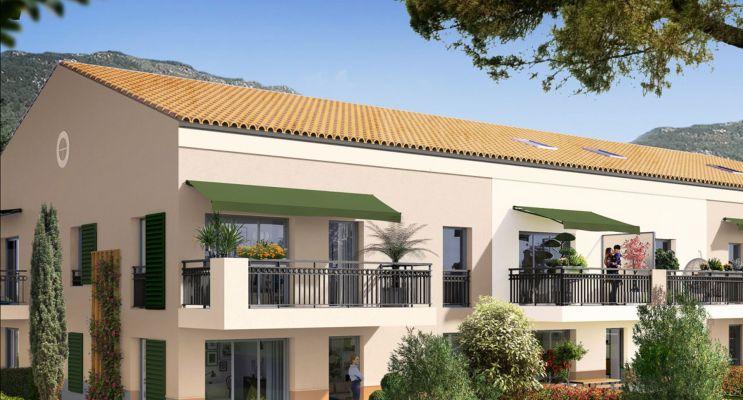 Carros programme immobilier neuf « Le Mas de Clery » en Loi Pinel