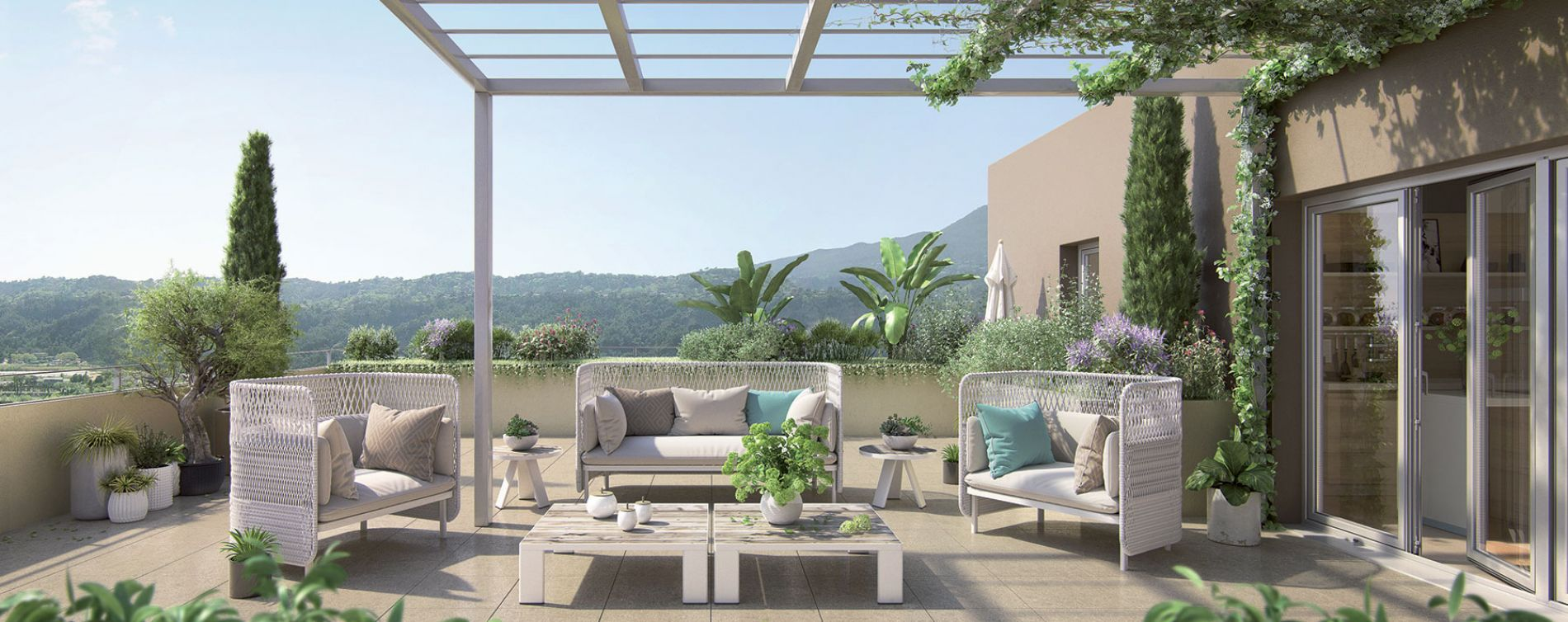 Résidence Les Jardins d'Azur à Carros
