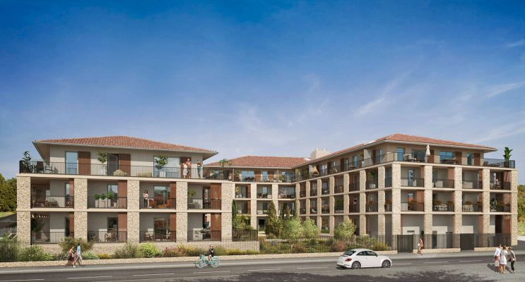 Résidence « Symbiose » programme immobilier neuf en Loi Pinel à Carros n°2