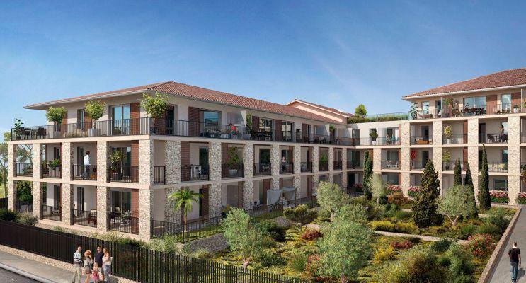 Résidence « Symbiose » programme immobilier neuf en Loi Pinel à Carros n°3