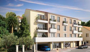 Châteauneuf-Grasse : programme immobilier neuf « Le Clos d'Elie » en Loi Pinel
