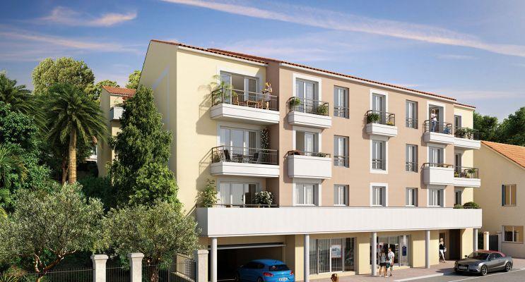 Photo du Résidence « Le Clos d'Elie » programme immobilier neuf en Loi Pinel à Châteauneuf-Grasse
