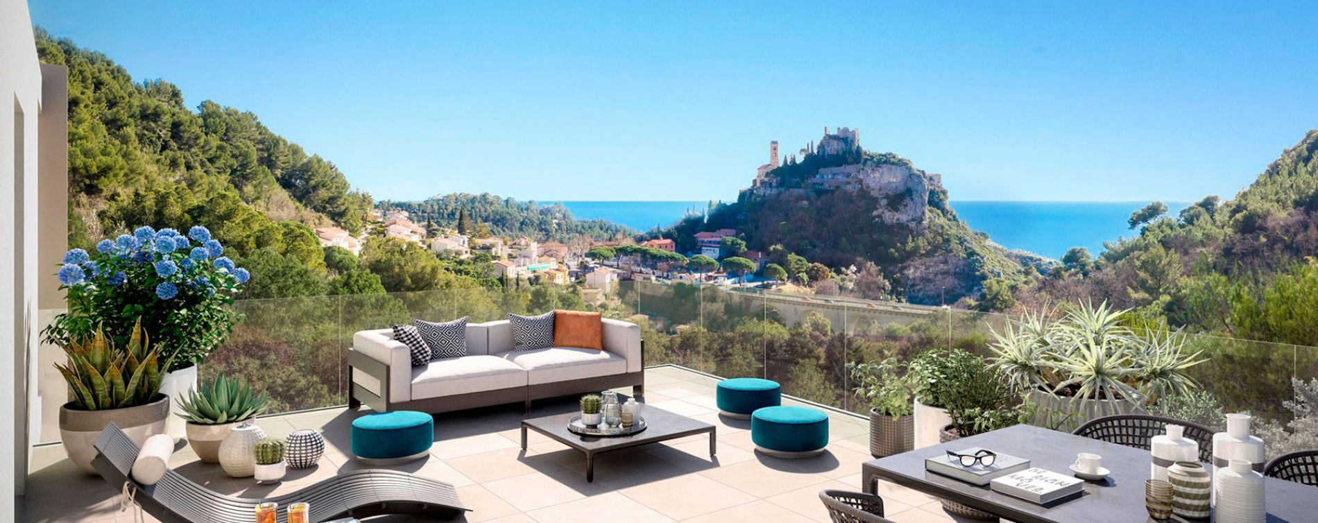 Èze : programme immobilier neuve « Prestige View »