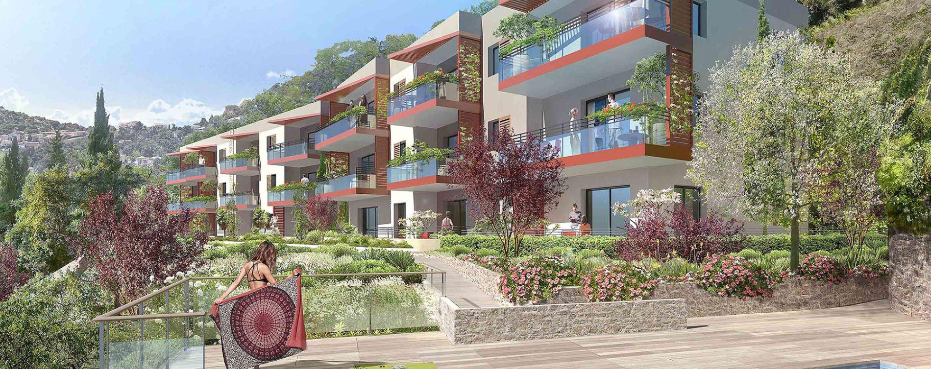Èze : programme immobilier neuve « Privilège » en Loi Pinel (2)