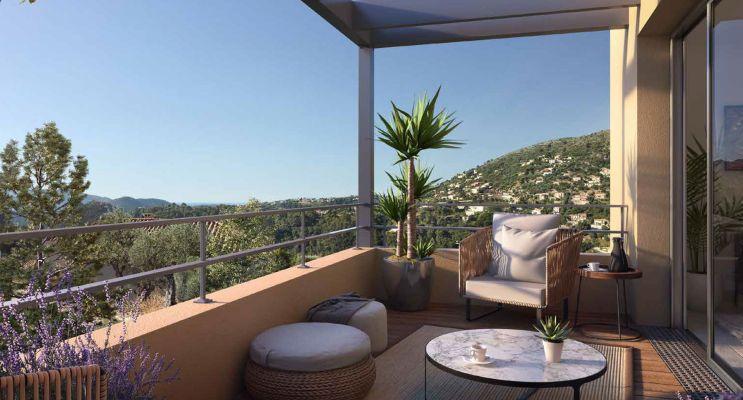 Photo n°2 du Résidence « Alta Riva » programme immobilier neuf en Loi Pinel à Falicon