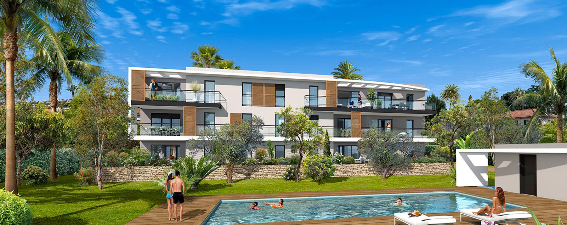 Résidence Villa Palma à Golfe-juan