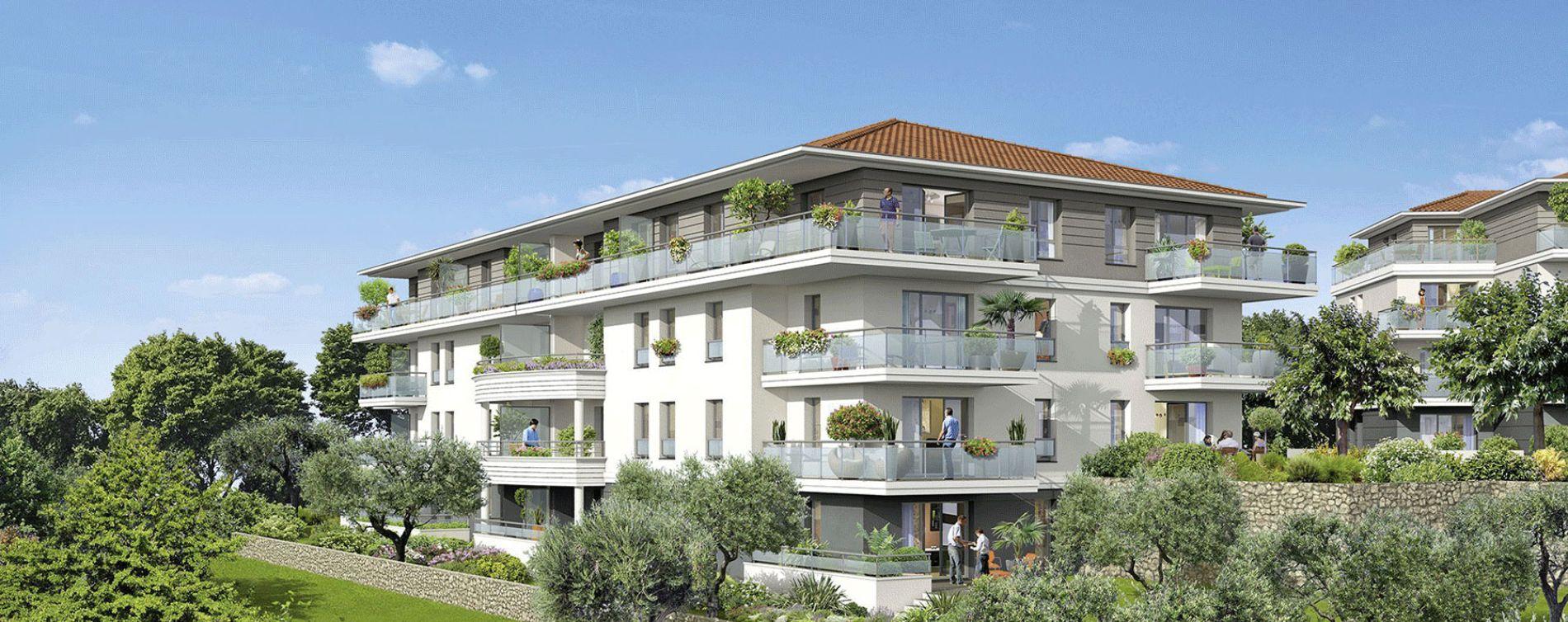 Grasse : programme immobilier neuve « Le Parc » en Loi Pinel