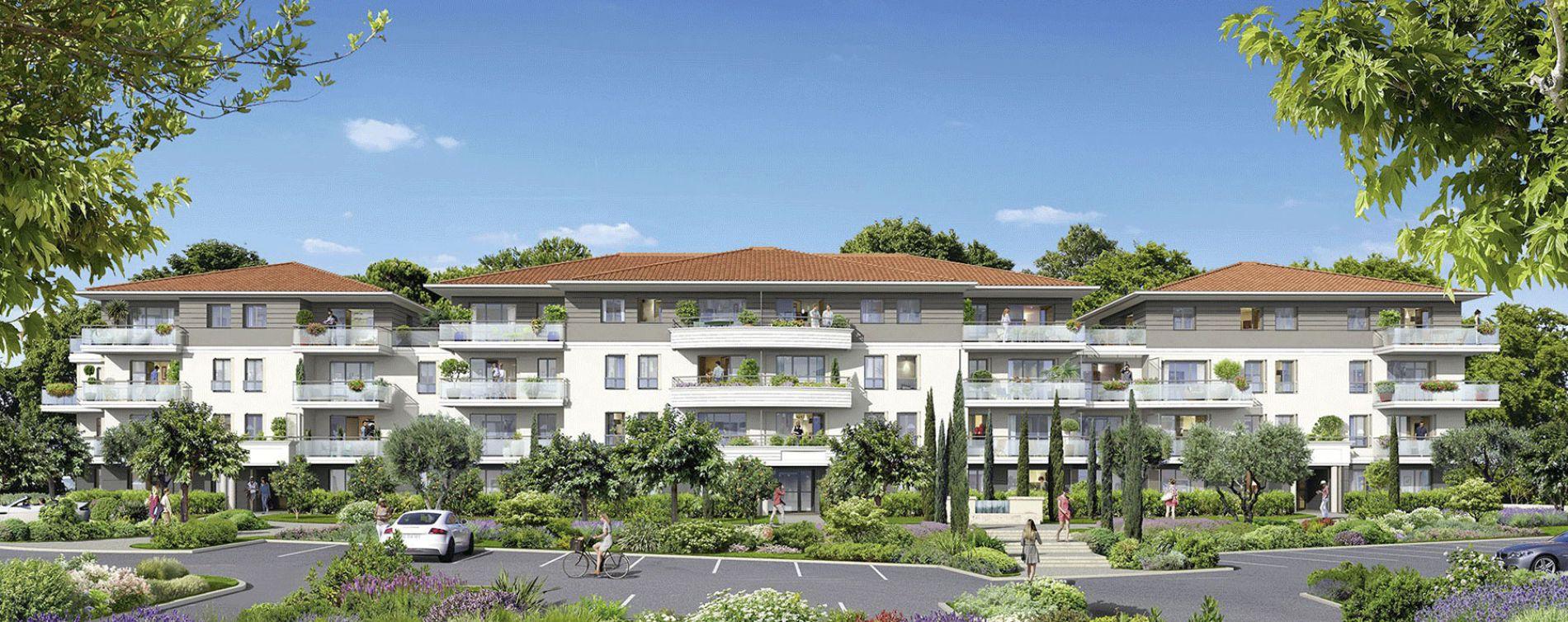 Grasse : programme immobilier neuve « Le Parc » en Loi Pinel (3)