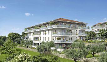 Grasse : programme immobilier neuf « Le Parc » en Loi Pinel