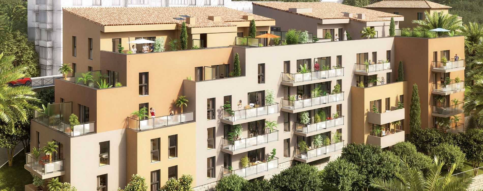 Grasse : programme immobilier neuve « Villa Pauline »