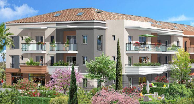Photo n°2 du Résidence « Villa Sarah » programme immobilier neuf en Loi Pinel à La Roquette-sur-Siagne