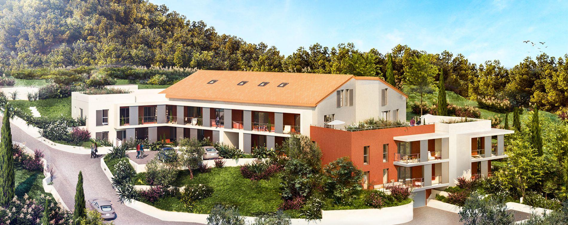 La Trinité : programme immobilier neuve « Villa Augusta » en Loi Pinel