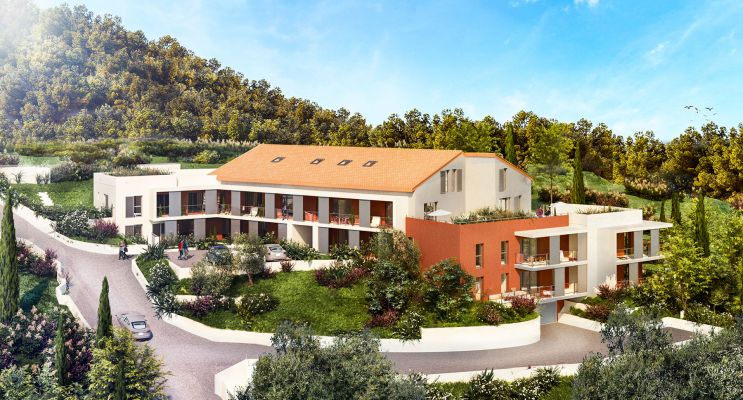 La Trinité : programme immobilier neuf « Villa Augusta » en Loi Pinel