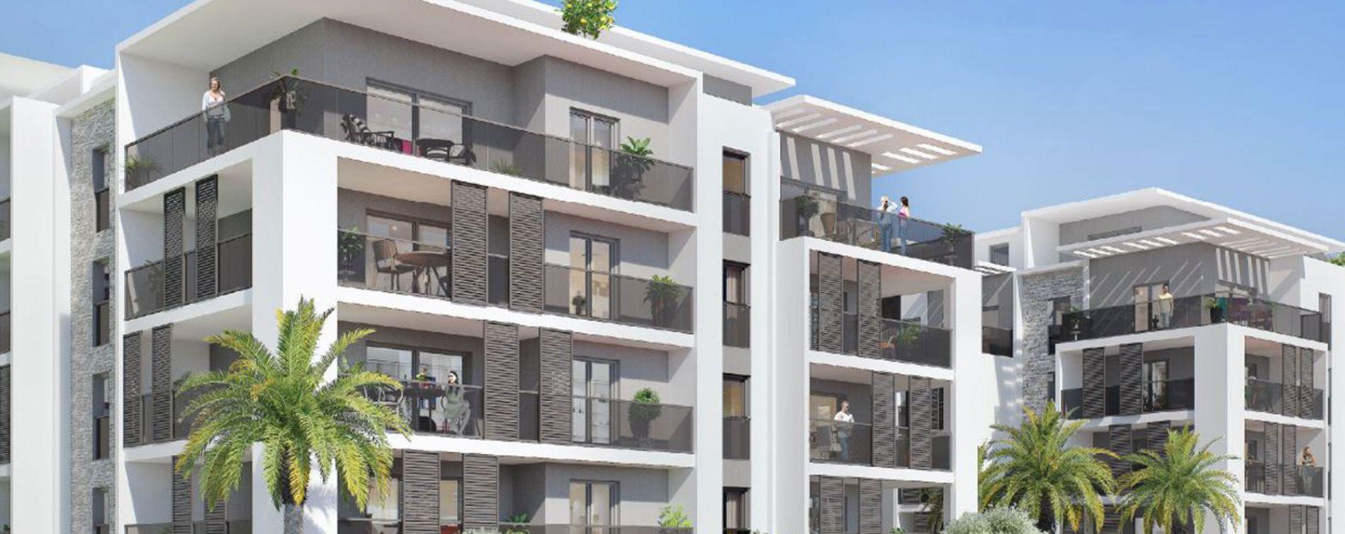 Le Cannet : programme immobilier neuve « Carré Mosaïque »