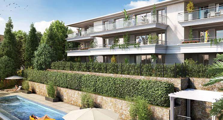 Le Cannet : programme immobilier neuf « Horizon Croisette » en Loi Pinel