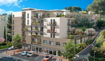 Le Cannet : programme immobilier neuf « Le 55 » en Loi Pinel