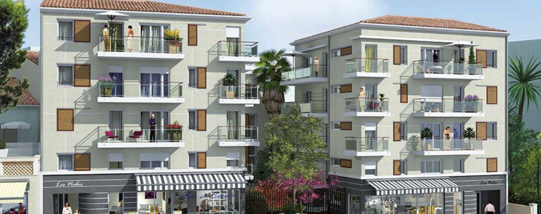 Le Cannet : programme immobilier neuve « Les Nabis » en Loi Pinel
