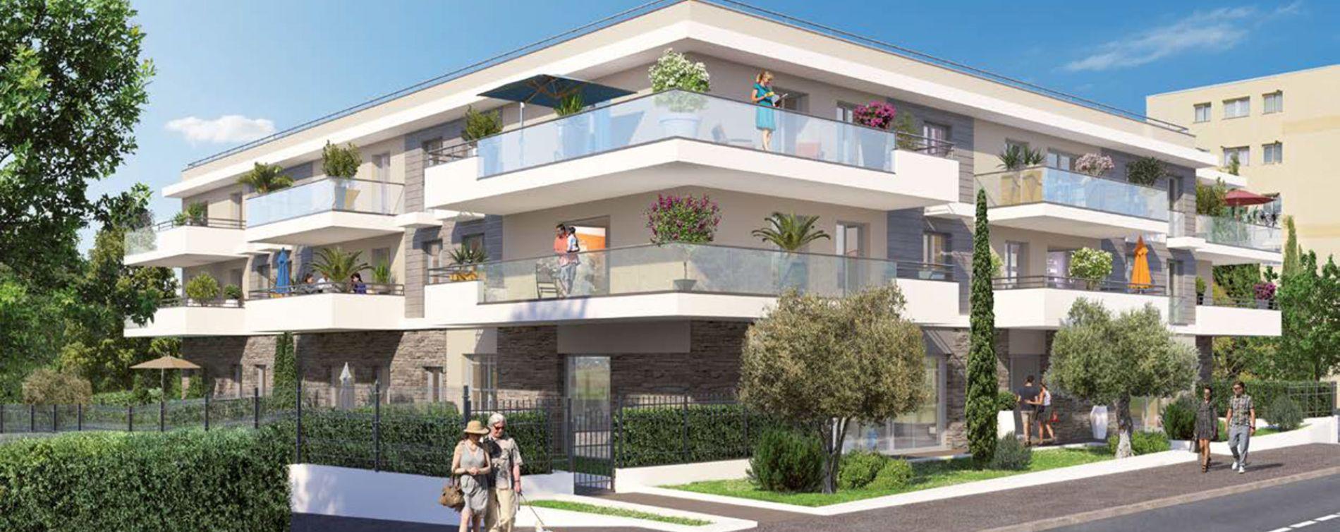 Le Cannet : programme immobilier neuve « Programme immobilier n°219222 » en Loi Pinel
