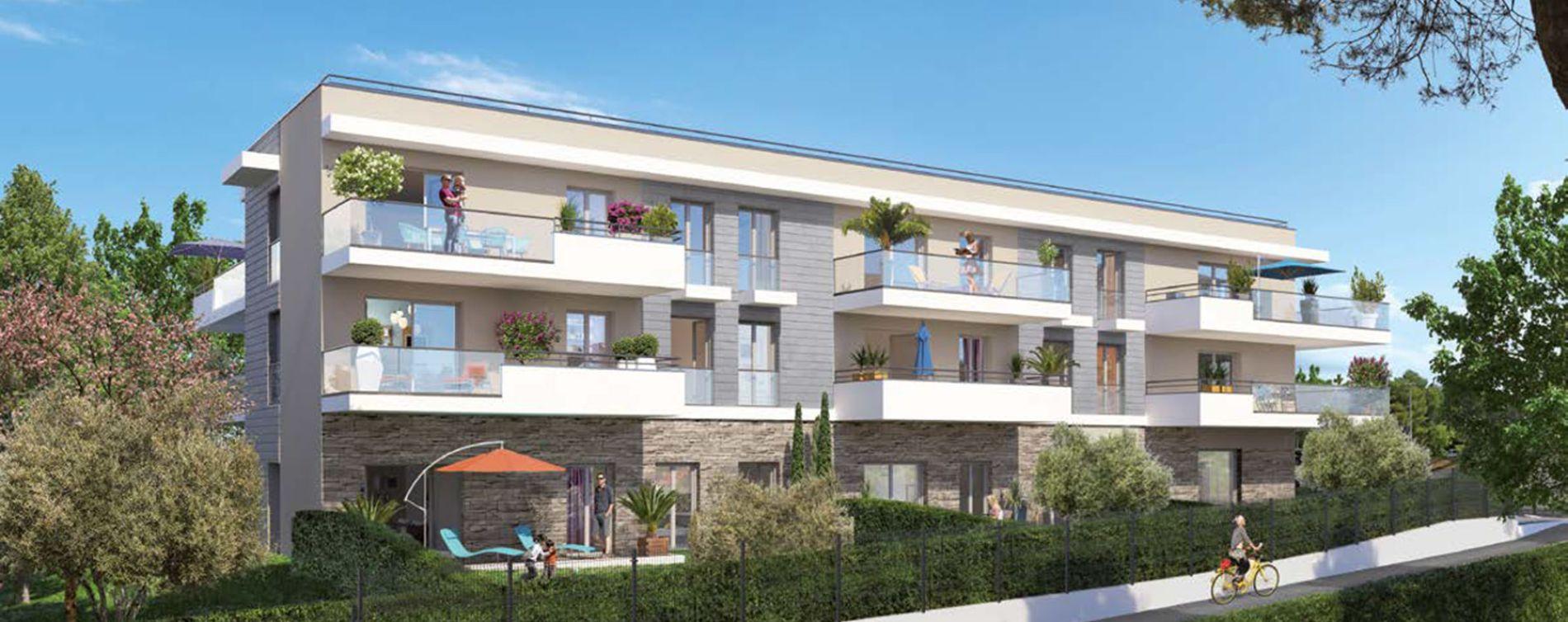 Le Cannet : programme immobilier neuve « Programme immobilier n°219222 » en Loi Pinel (2)