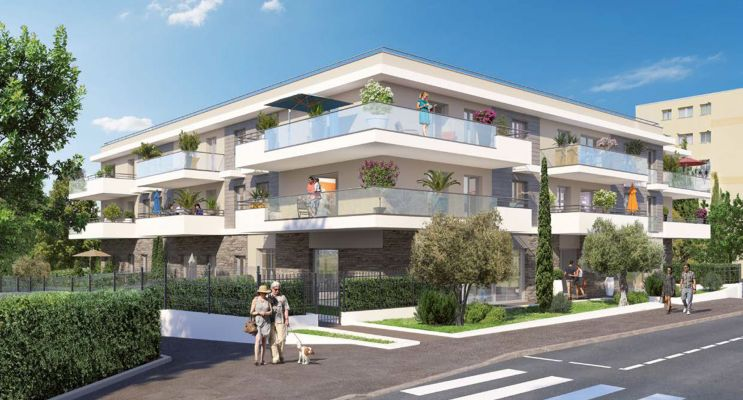 Le Cannet : programme immobilier neuf «  n°219222 » en Loi Pinel