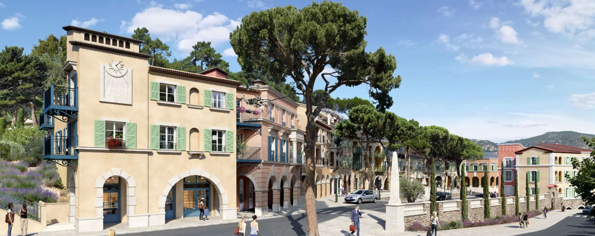 Le Rouret : programme immobilier neuve « Chemin des Comtes de Provence »