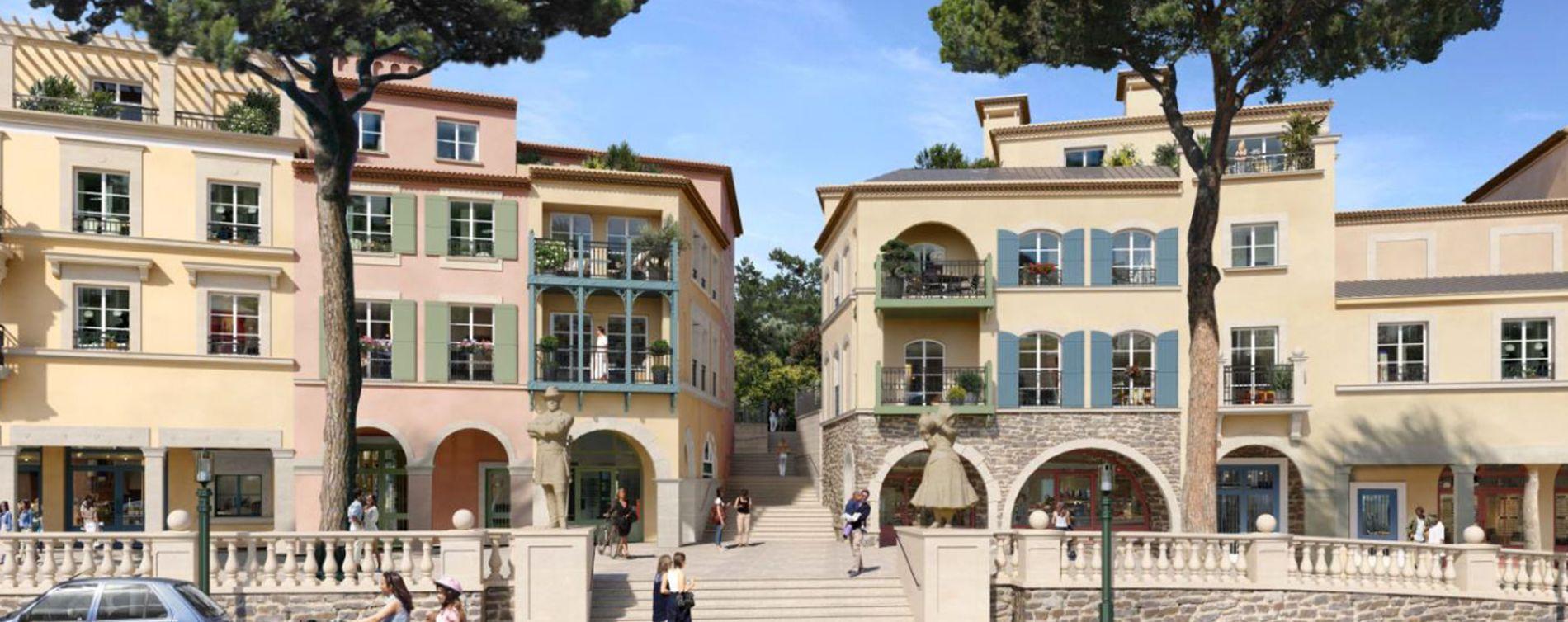 Le Rouret : programme immobilier neuve « Chemin des Comtes de Provence » (2)