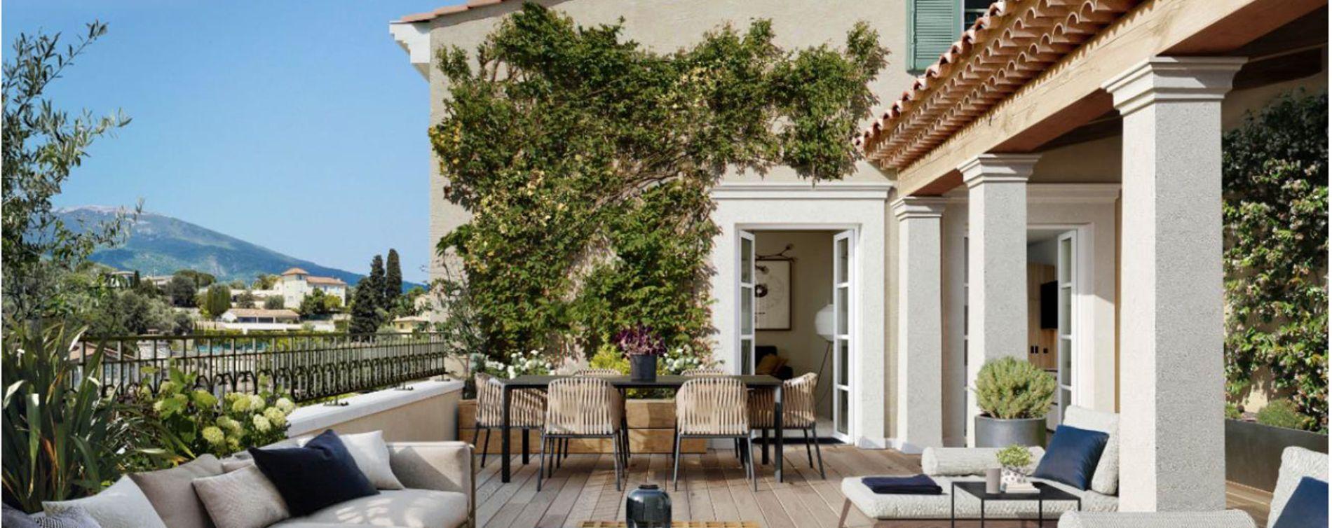 Le Rouret : programme immobilier neuve « Chemin des Comtes de Provence » (3)