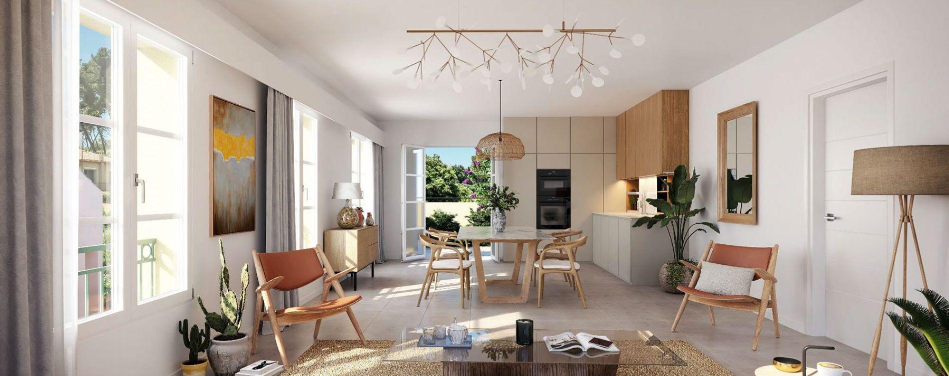 Le Rouret : programme immobilier neuve « Chemin des Comtes de Provence » (4)