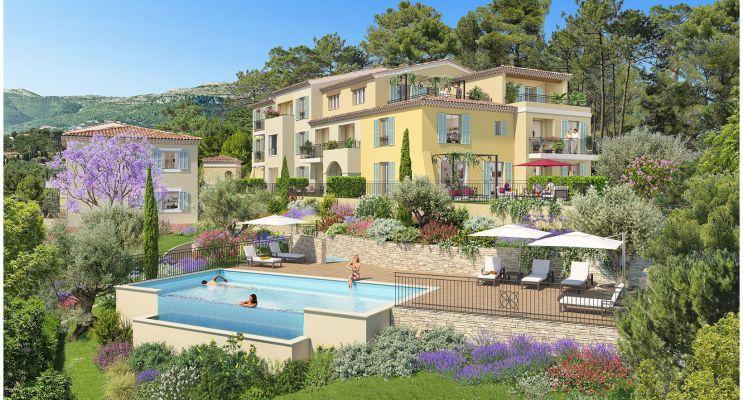 Photo du Résidence « Les Hauts de Chantebelle » programme immobilier neuf en Loi Pinel à Le Rouret
