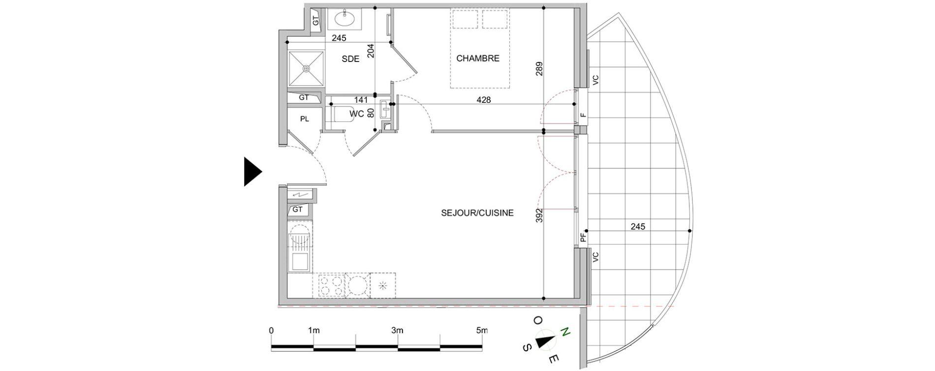 Plan T2 neuf à Mandelieu-la-Napoule de