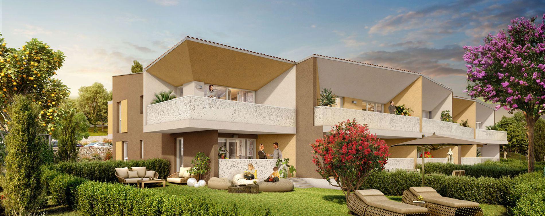 Mandelieu-la-Napoule : programme immobilier neuve « Luméa »