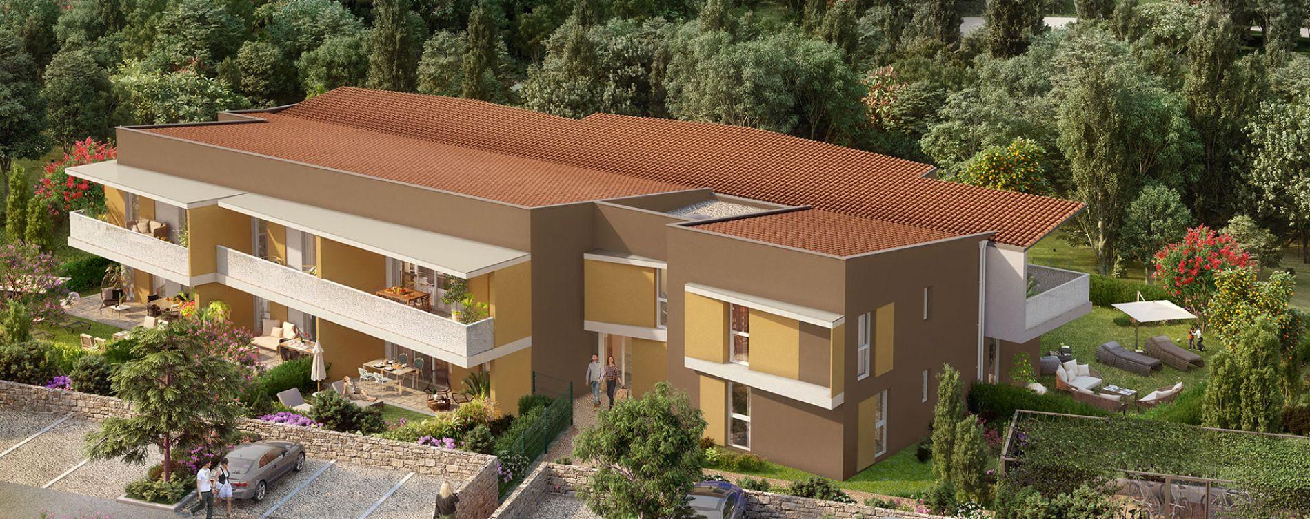 Mandelieu-la-Napoule : programme immobilier neuve « Luméa » (2)