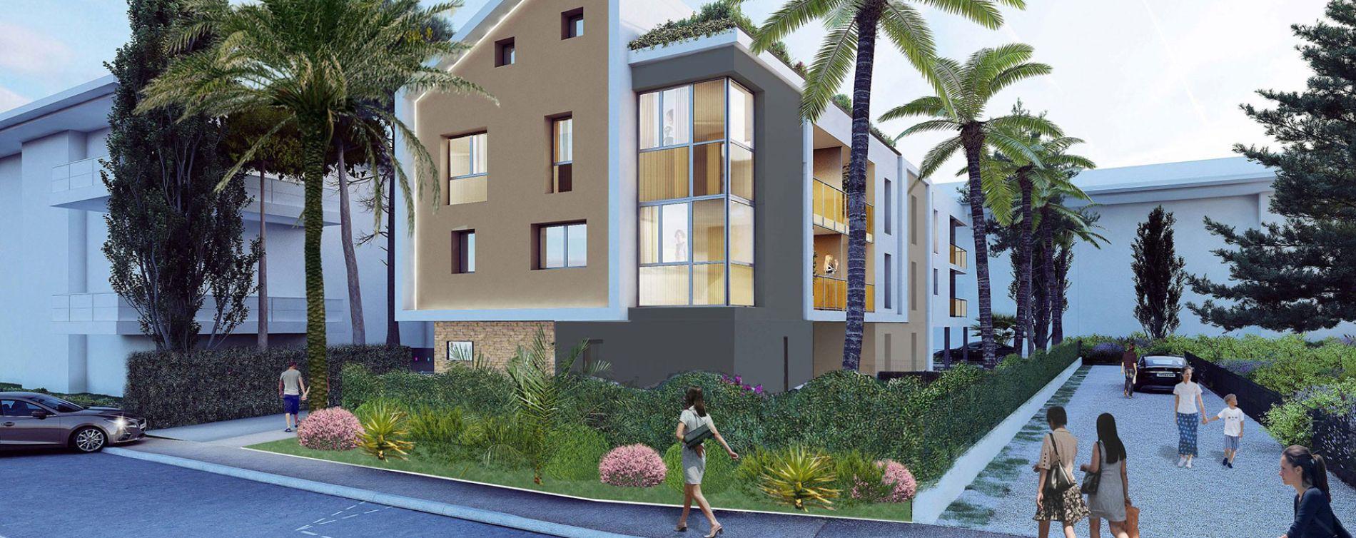 Mandelieu-la-Napoule : programme immobilier neuve « Villa Hermès » en Loi Pinel
