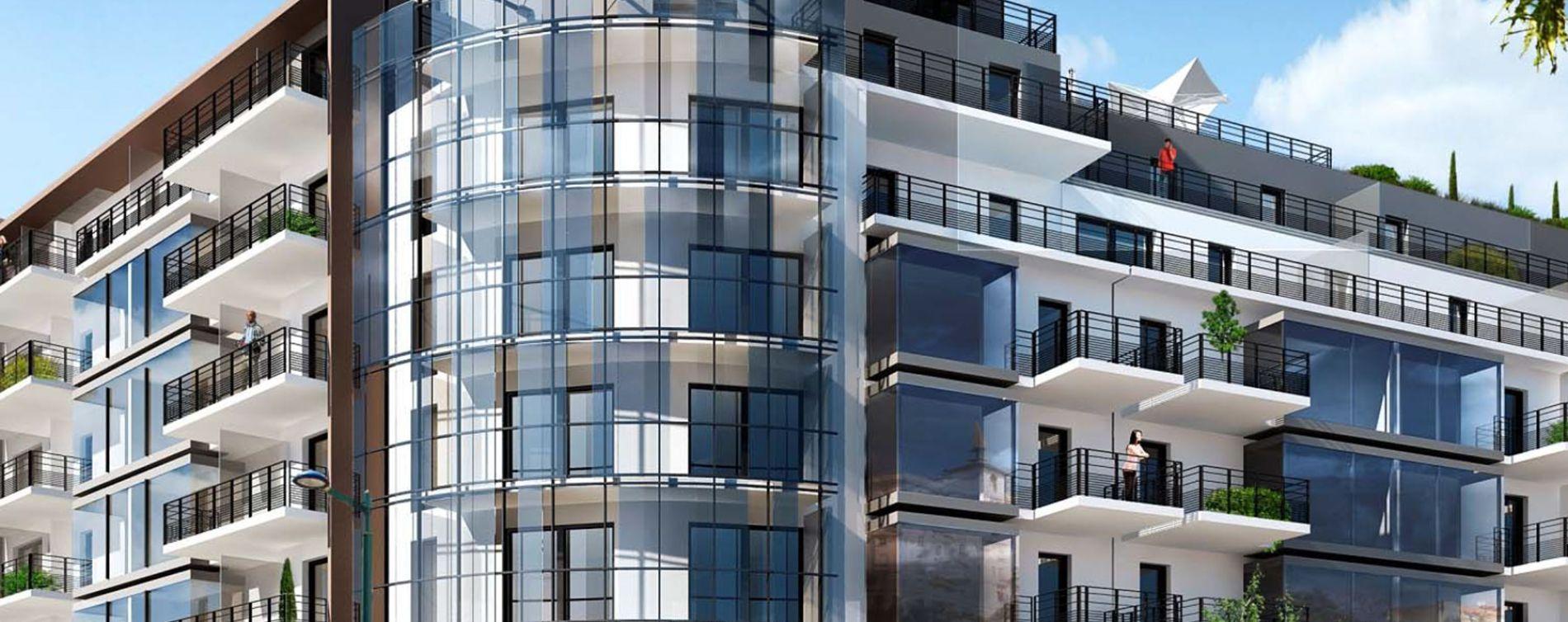 Menton : programme immobilier neuve « Cap Riviera » en Nue Propriété
