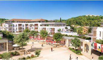 Mougins : programme immobilier neuf « Cours des Arts » en Loi Pinel
