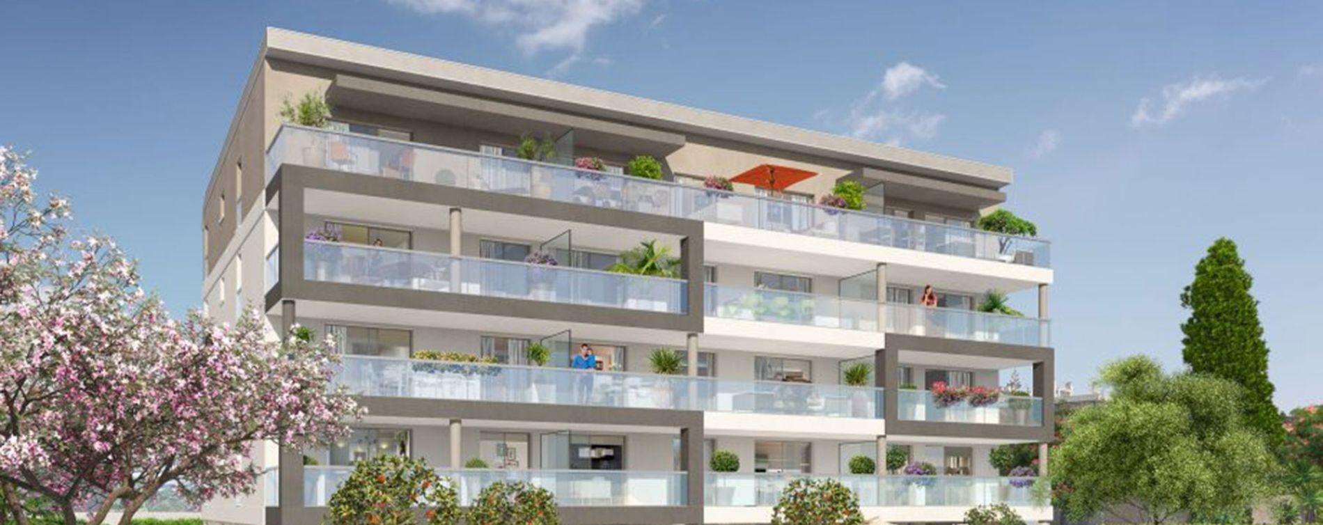 Nice : programme immobilier neuve « Programme immobilier n°217726 » en Loi Pinel